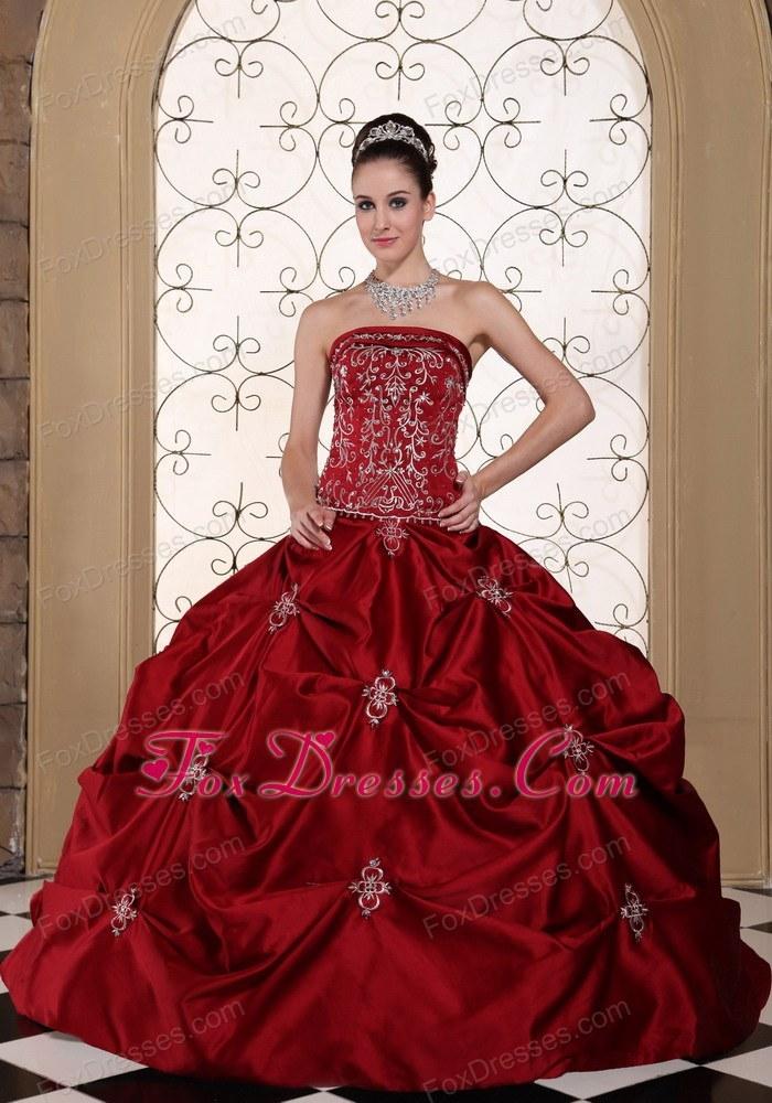 Red Wedding Gown: Red Wedding Reception Dress