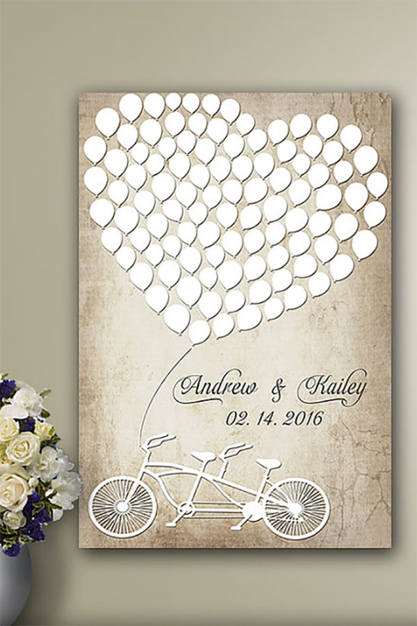 Wedding guest book alternatives wedding signs wedding guest book alternative wood guest book junglespirit Image collections