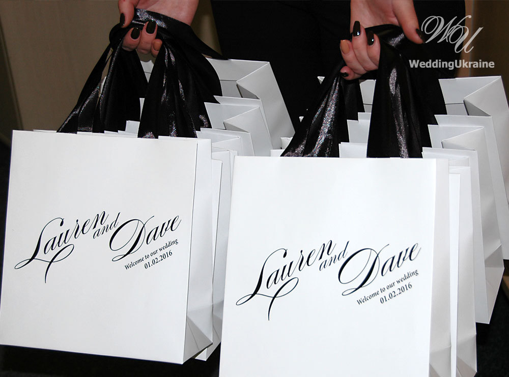 Hotel Wedding Guest Gift Bags Gallery Decoration Ideas