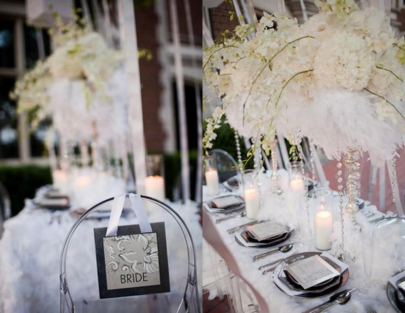 Feather Themed Wedding Ideas Gallery - Wedding Decoration Ideas