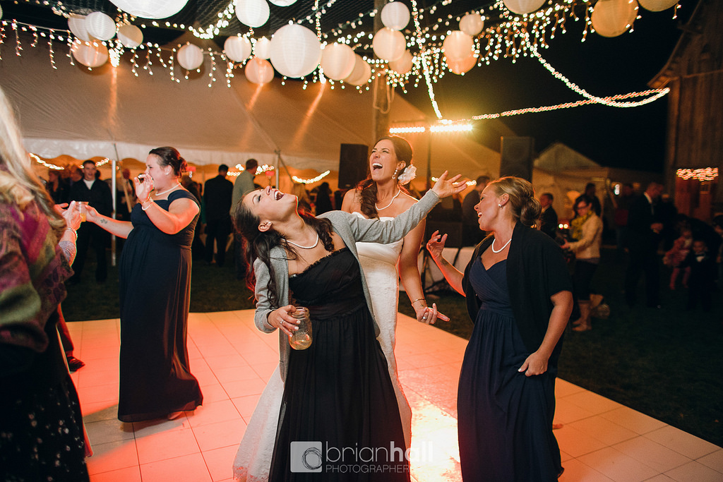 Outdoor Wedding Dance Floor