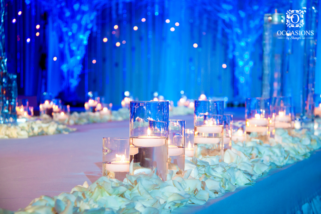 Winter Wonderland Themed Wedding