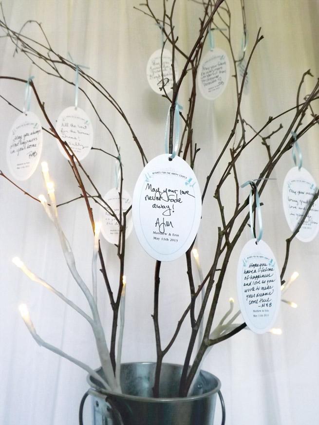 Wishing Tree Stunning White Manzanita Wedding Wish 104cm