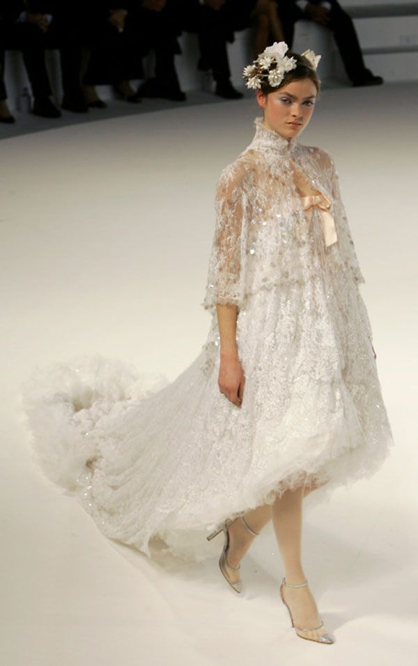Chanel wedding dress for Coco chanel wedding dress