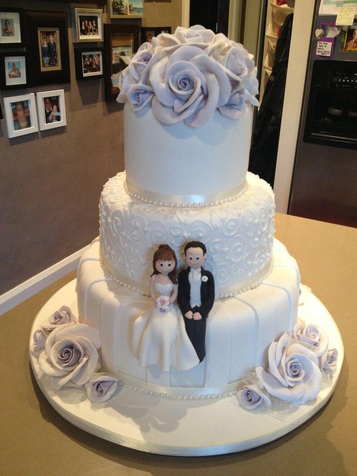 3 Layer Wedding Cakes