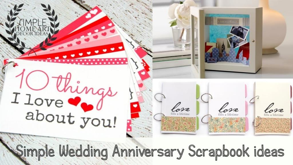 22 Year Wedding Anniversary Gift: 25th Wedding Anniversary Scrapbook Ideas