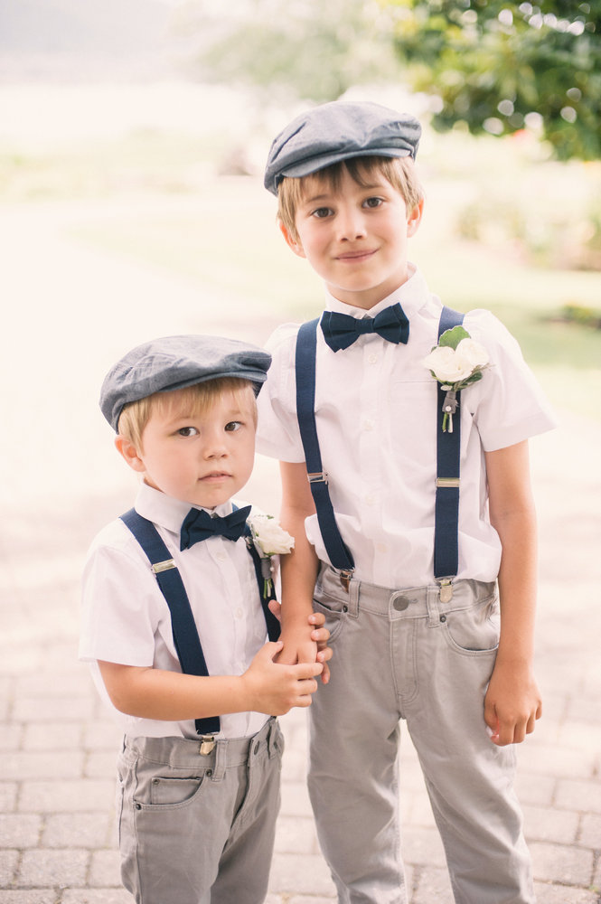 Beach Wedding Attire For Ring Bearer