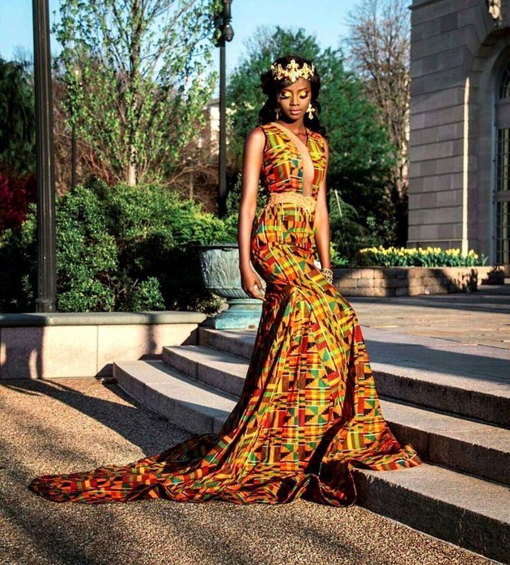 African Print Wedding Dresses - Wedding Dresses