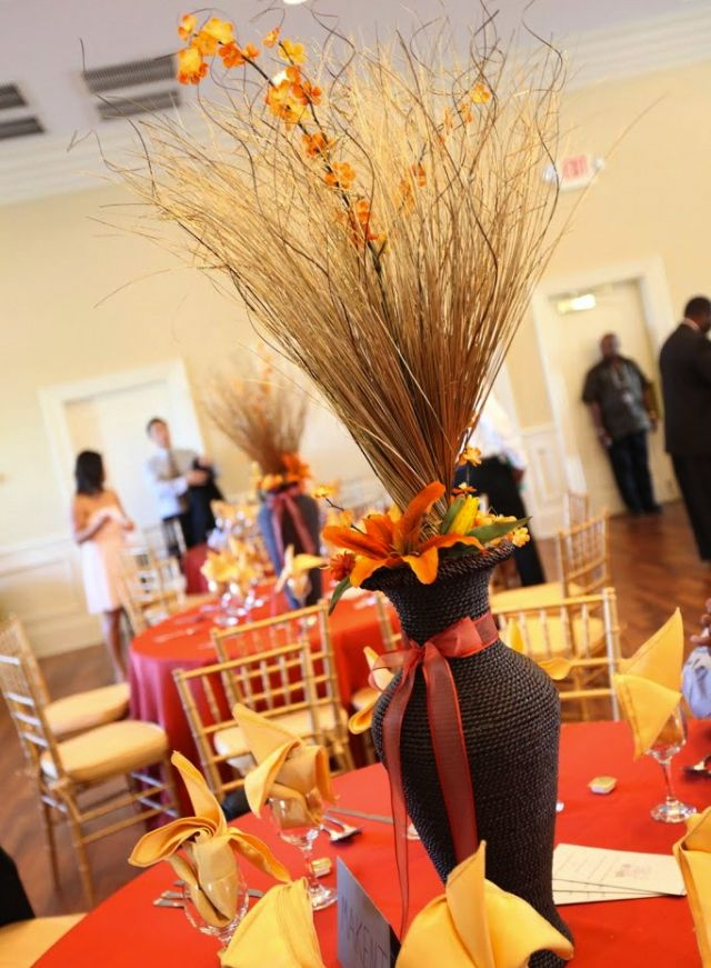 African Centerpieces Fashion Design Images