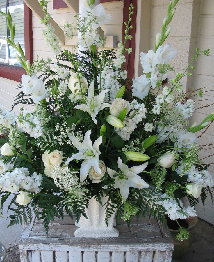 Flower Arrangement Ideas For Weddings: Wedding Flowers For Church