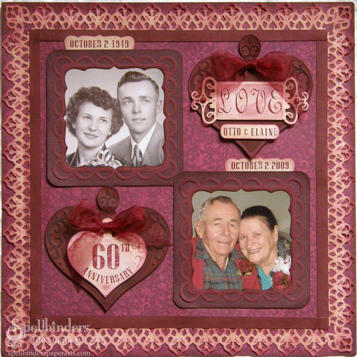 25th Wedding Anniversary Scrapbook Ideas