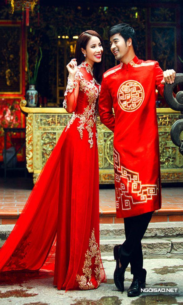 Vietnamese Ao Dai Wedding