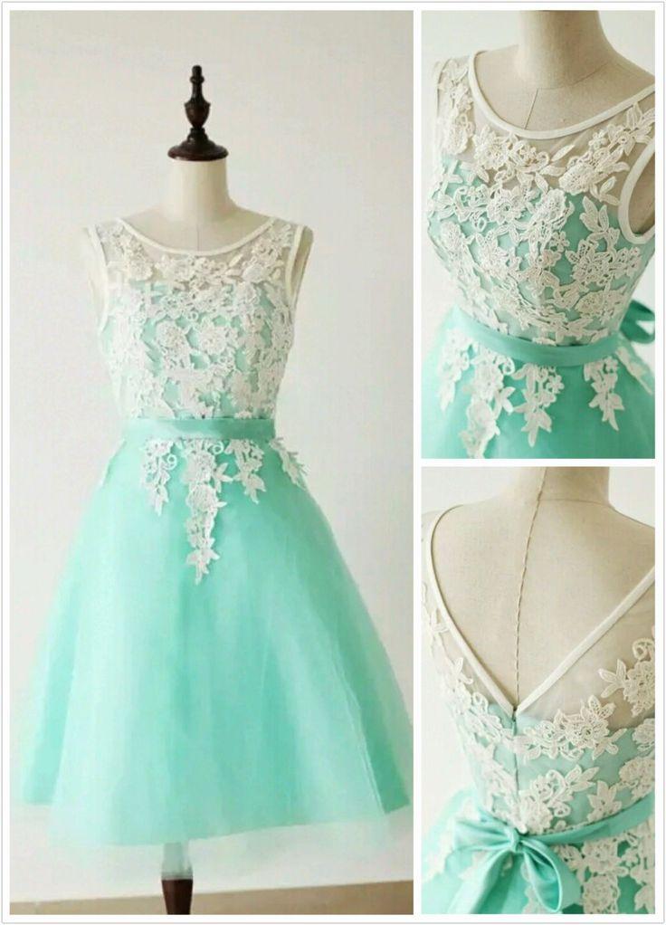 Aqua Wedding Dress