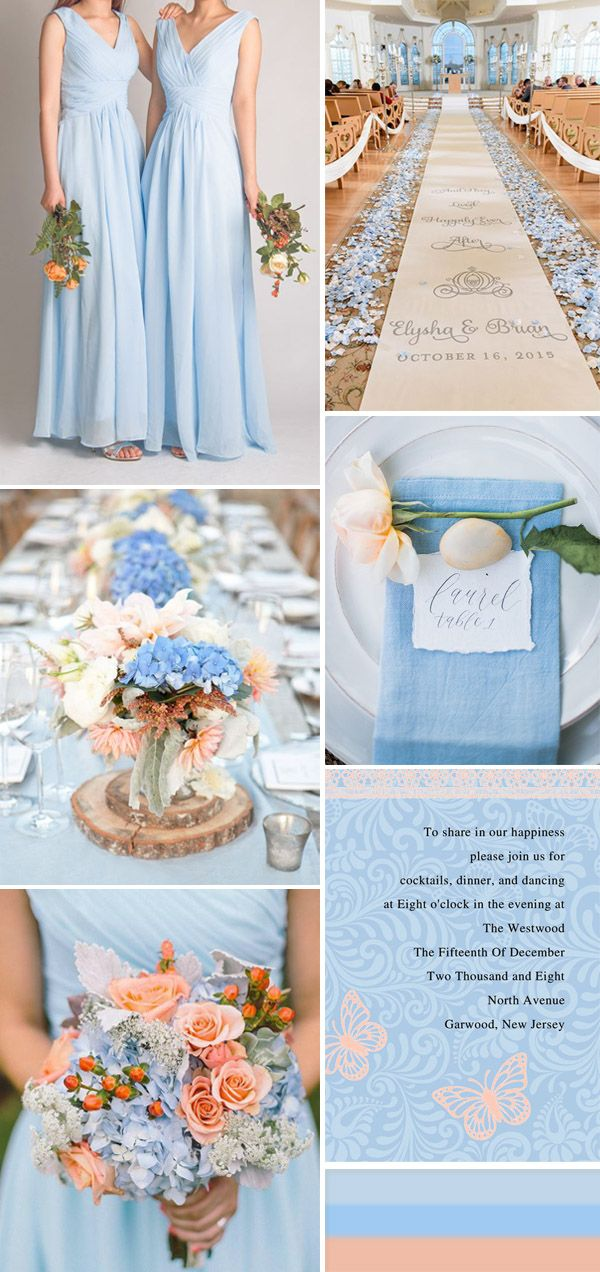 Baby Blue And Silver Wedding Theme Ideas