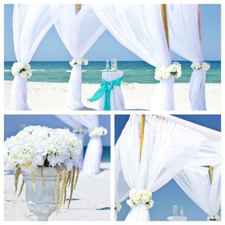 Beach Wedding Arch Decorations: Beach Wedding Arbor