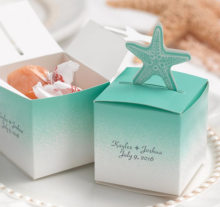 Beach Theme Wedding Favors