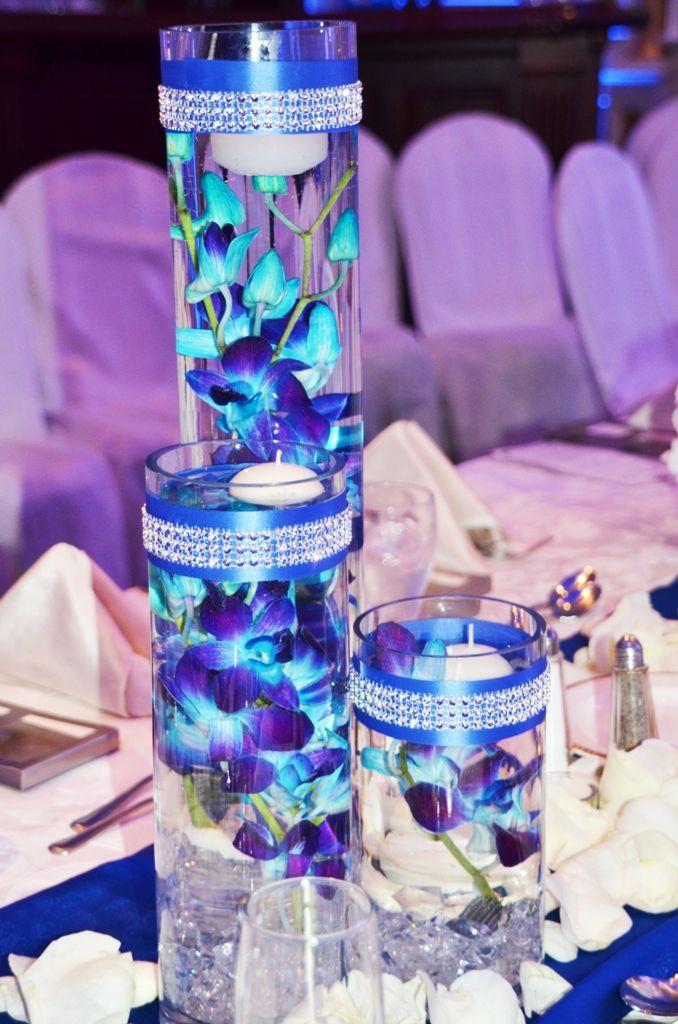 Beautiful Royal Blue And Purple Wedding Ideas Photos - Styles ...