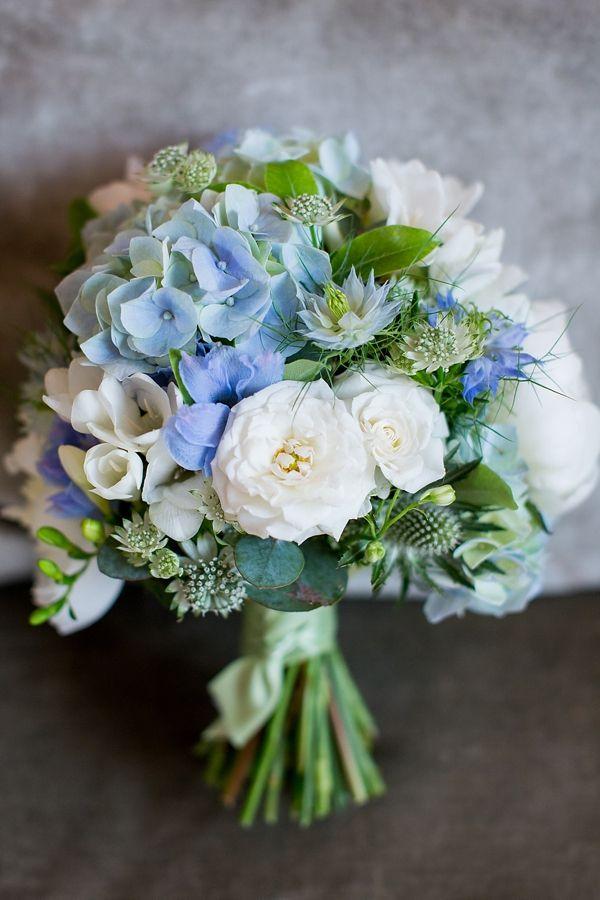 17 Best Ideas About Blue Hydrangea Wedding On Emasscraft Org Bridal Bouquet
