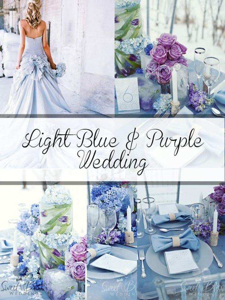 Beautiful Baby Blue Wedding Ideas Contemporary - Styles & Ideas ...