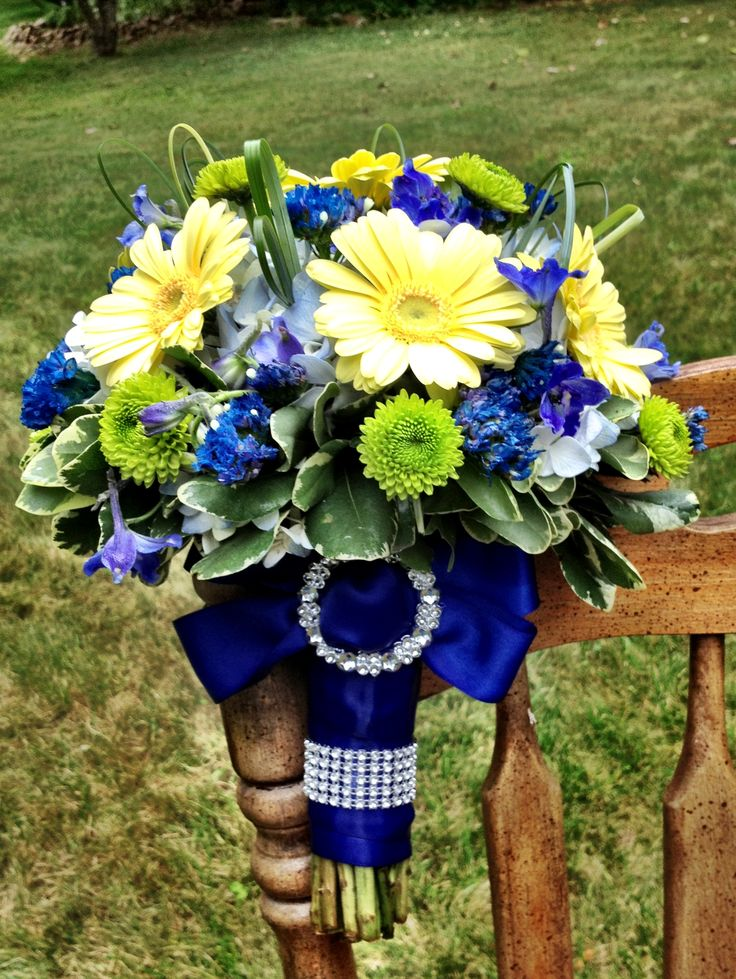 royal blue and silver wedding centerpieces%0A Stunning Yellow And Blue Wedding Ideas Ideas Styles Ideas