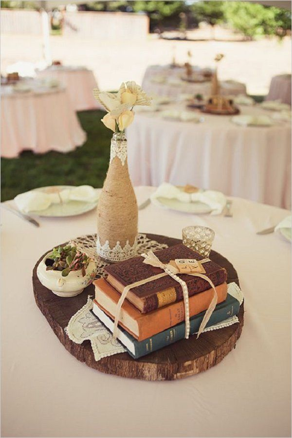 Book Themed Wedding Centerpieces Images Decoration Ideas