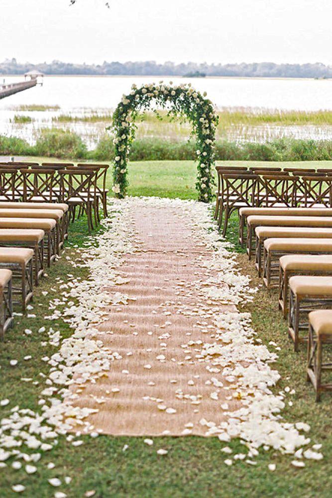 Burlap And Lace Wedding Decor Ideas
