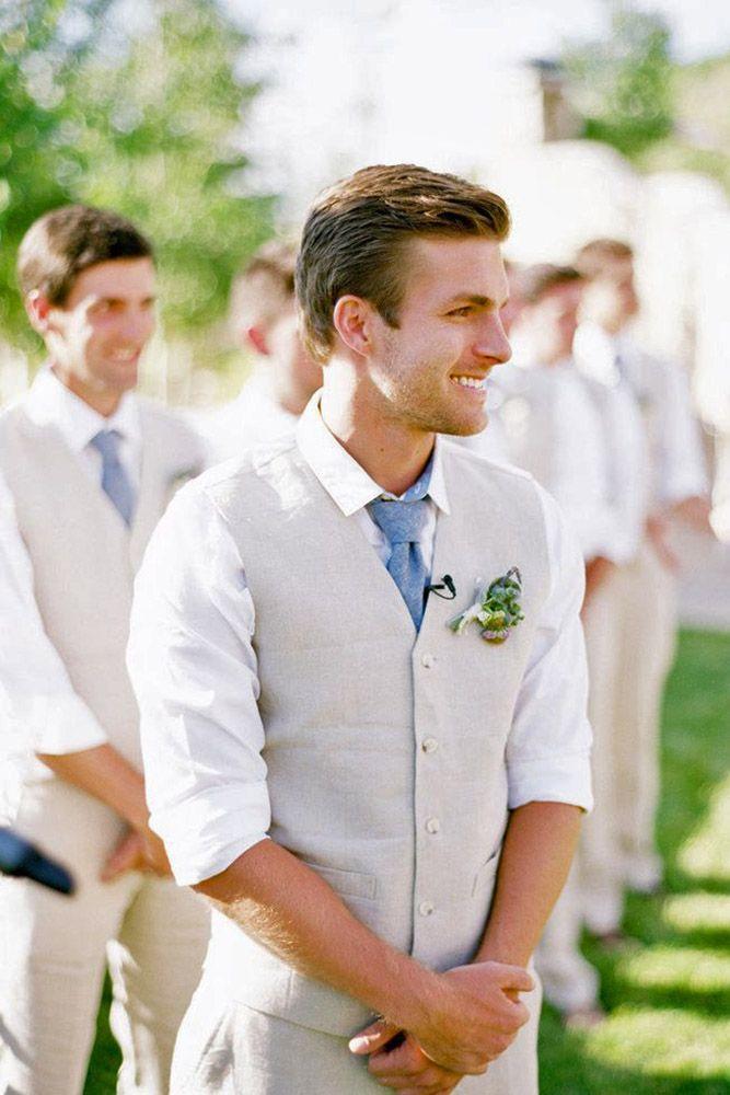 Grooms Attire Outdoor Wedding