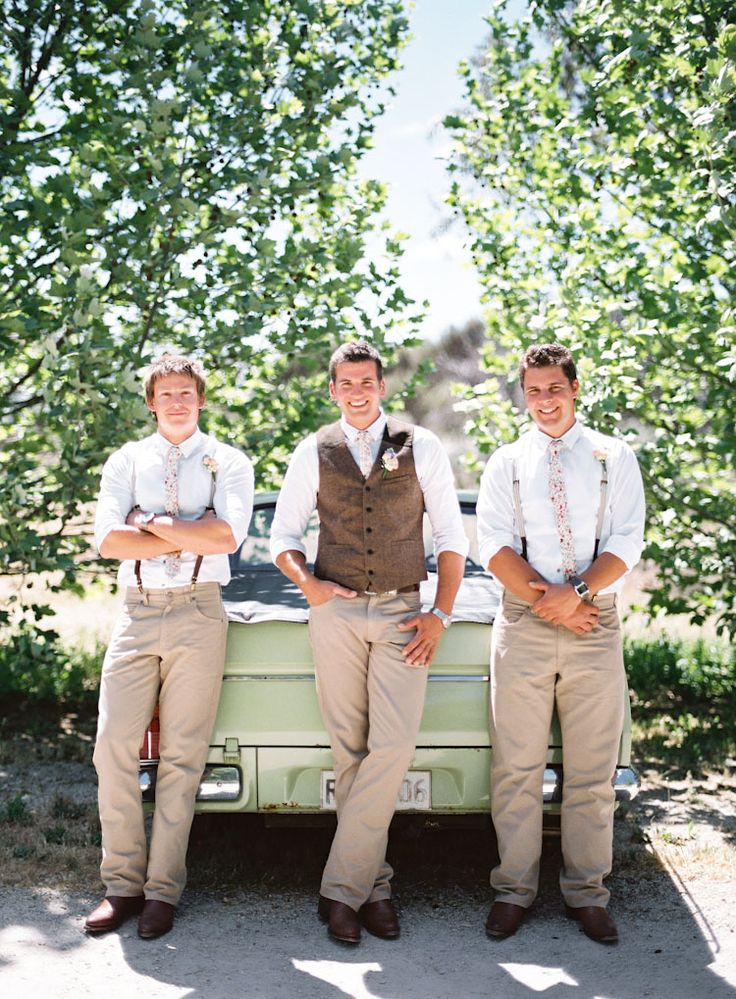 Country Themed Wedding Attire