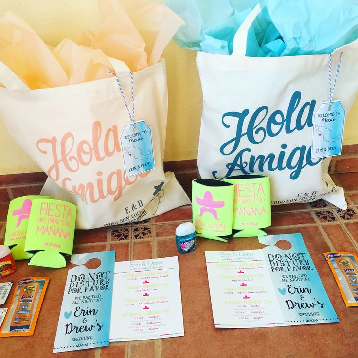 Gift Ideas For Destination Wedding: Destination Wedding Party Favors