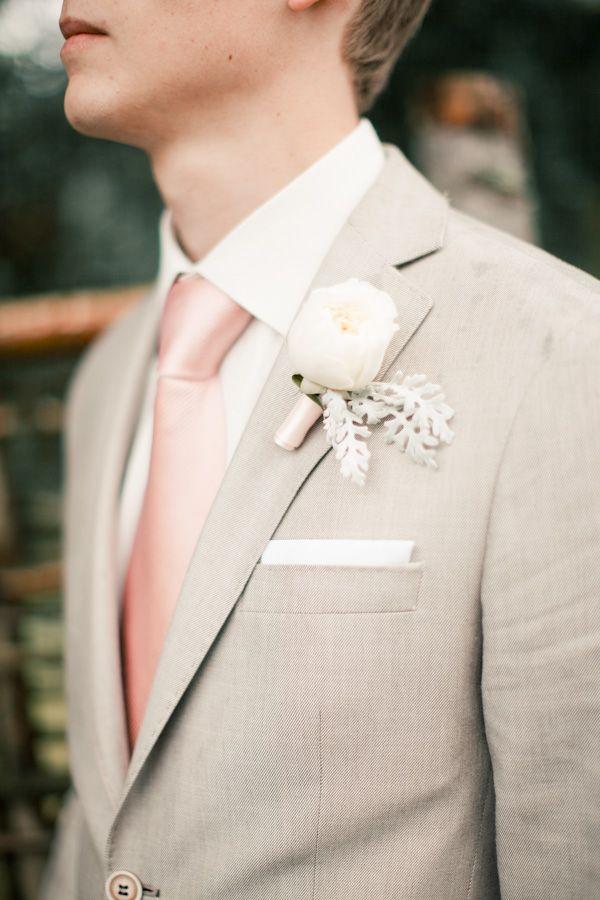 Khaki Wedding Suit