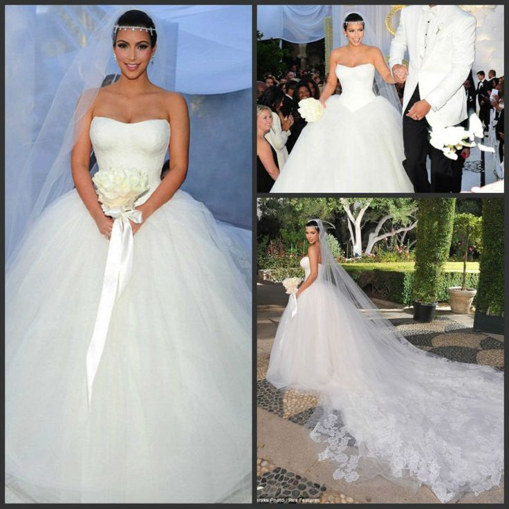 Kim Kardashian Wedding Gown: Kardashian Wedding Dress