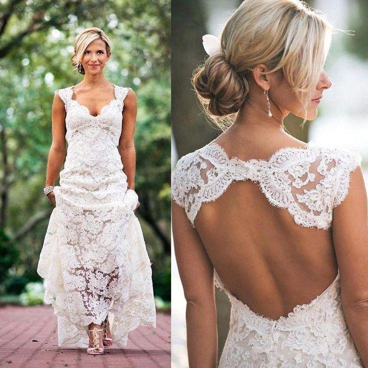 17 Best Ideas About Lace Beach Wedding Dress On Emasscraft Org