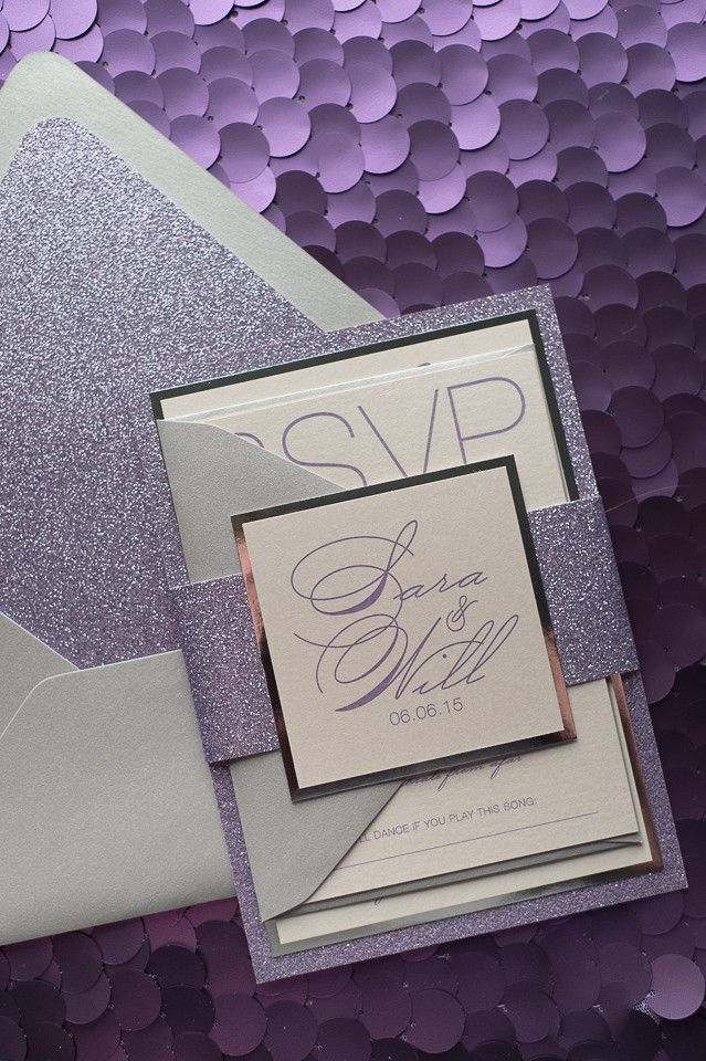 17 best ideas about lavender wedding invitations on emasscraft org - Purple And Silver Wedding Invitations