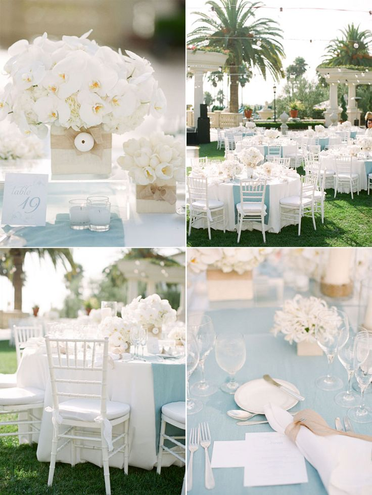 Sky Blue Light Blue And White Wedding Decorations from www.emasscraft.org