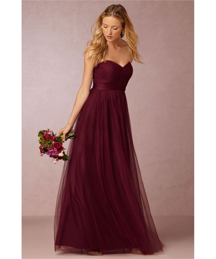 Maroon Wedding Gown: Wedding Dress Maroon Colour