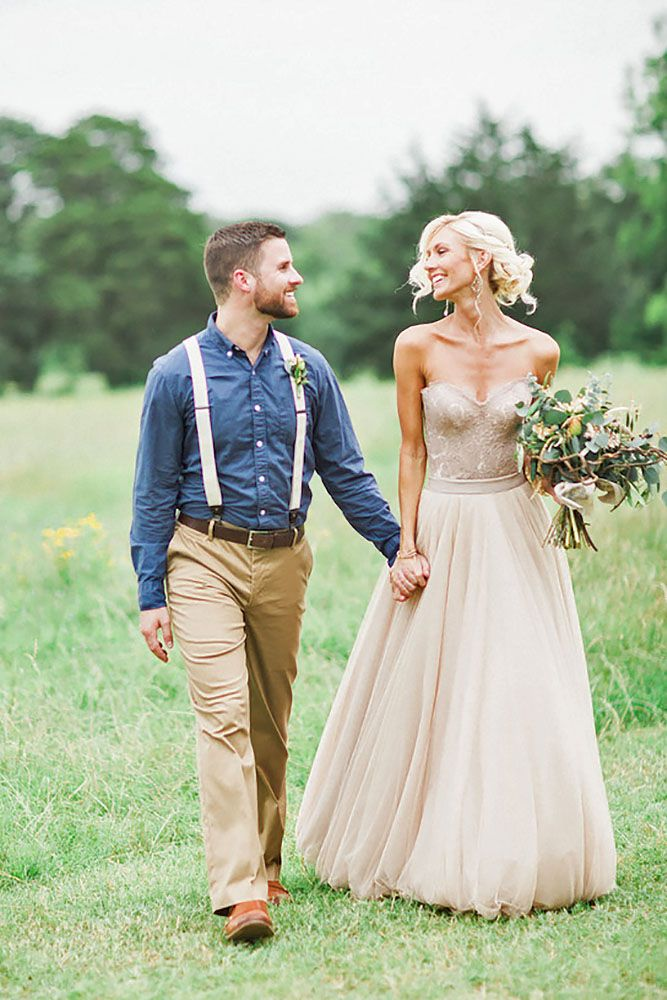 Grooms Attire Outdoor Wedding