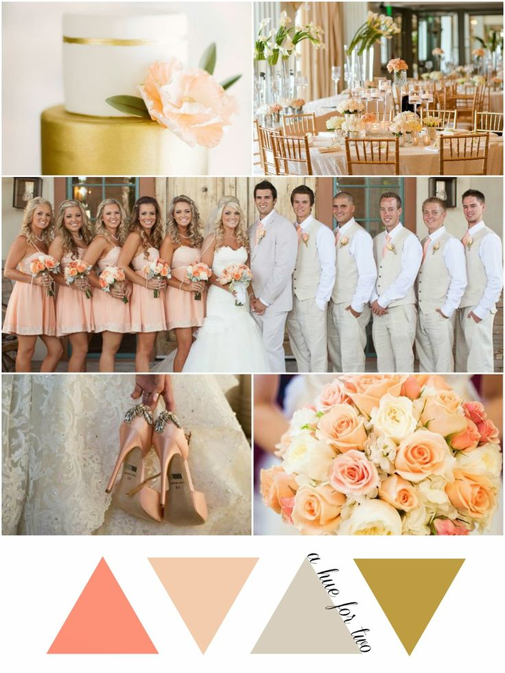 17 Best Ideas About Peach Wedding Theme On Emasscraft Org