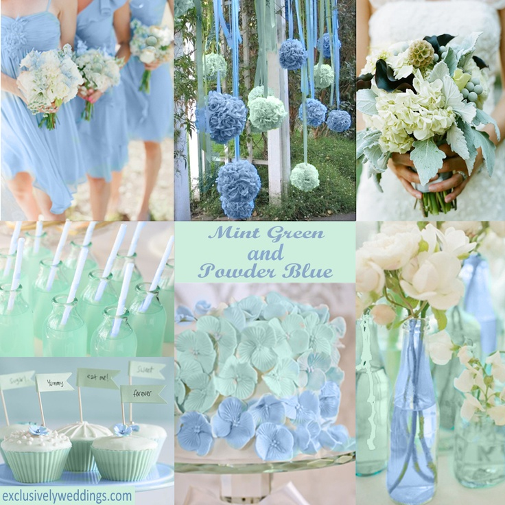 Powder blue wedding colors junglespirit Images