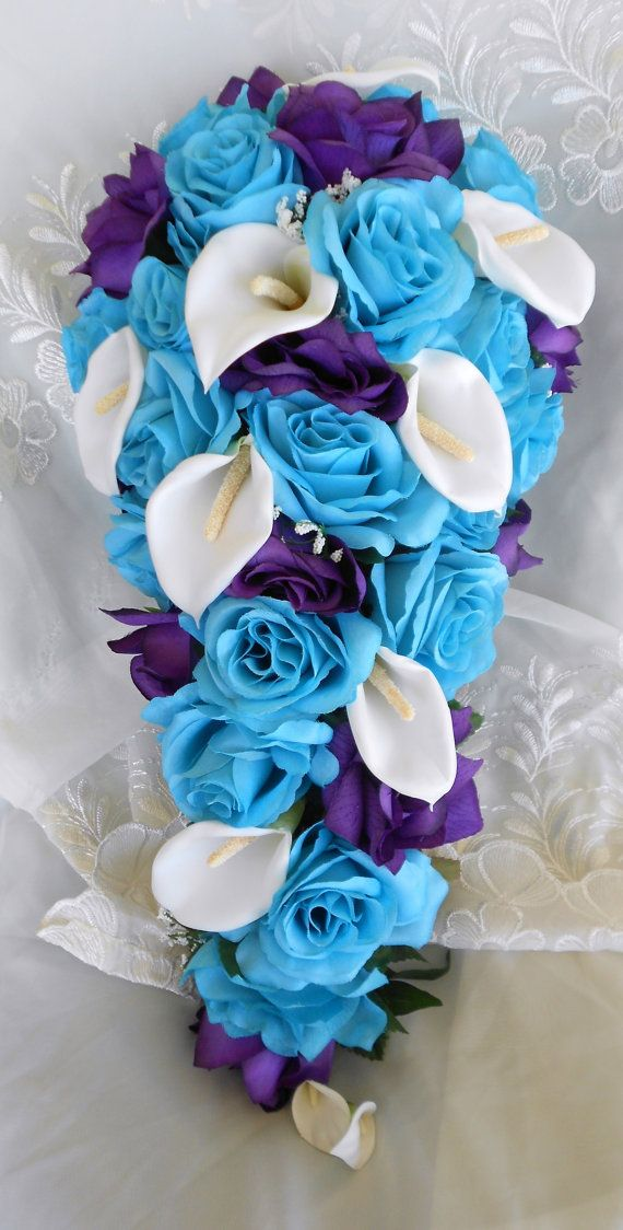Purple Turquoise And Silver Wedding - Unique Wedding Ideas