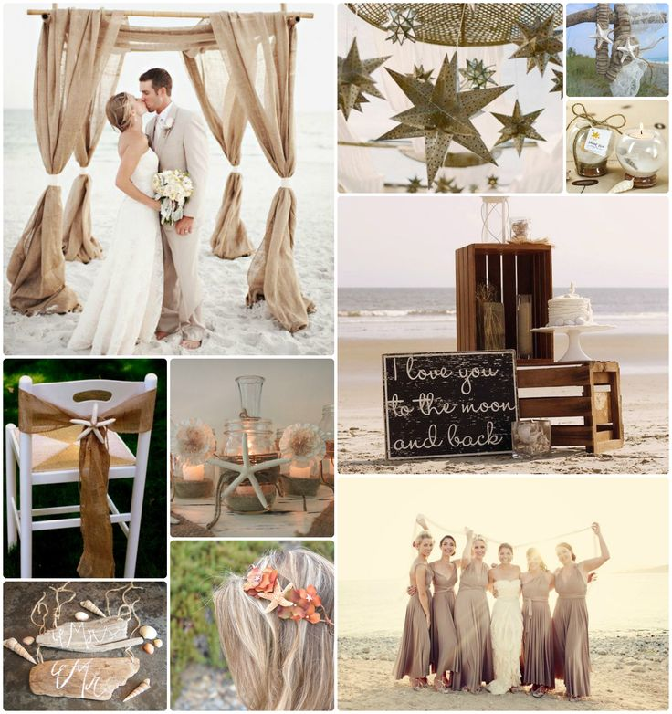 Rustic Wedding Color Schemes Purple And Gold Colors With Vintage Beach