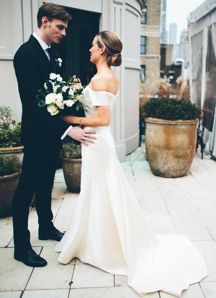 Silk wedding gowns for Wedding dresses straight cut