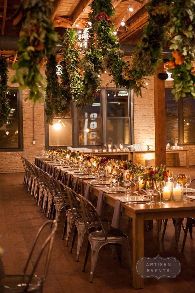 Craft warehouse wedding