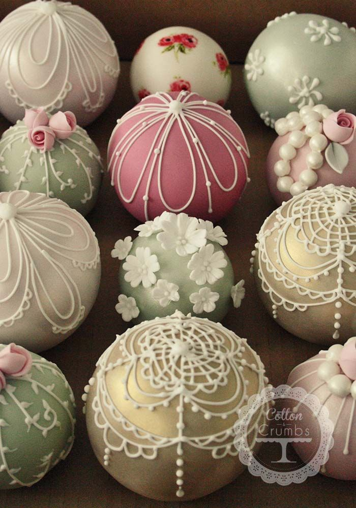 Wedding Cake Balls - Sphere Wedding Cake