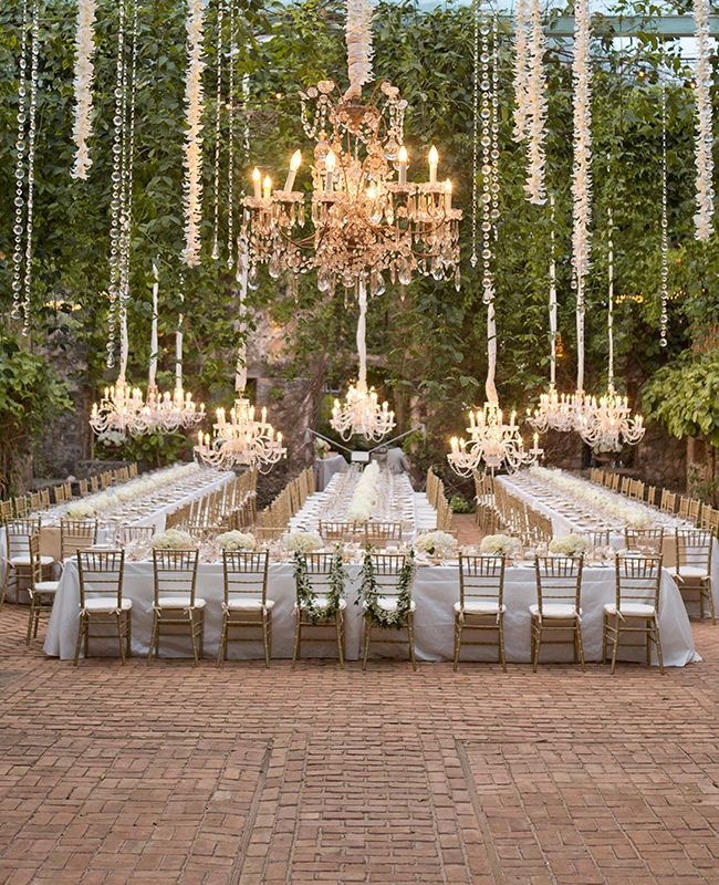 Table Arrangement For Wedding Reception