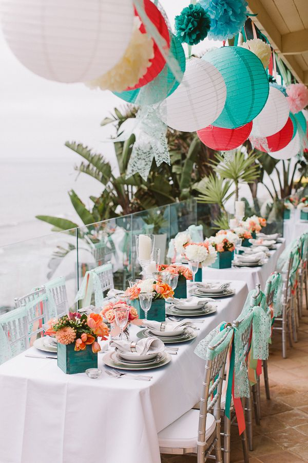 Beach Theme Wedding Reception Ideas Wedding Decor Ideas