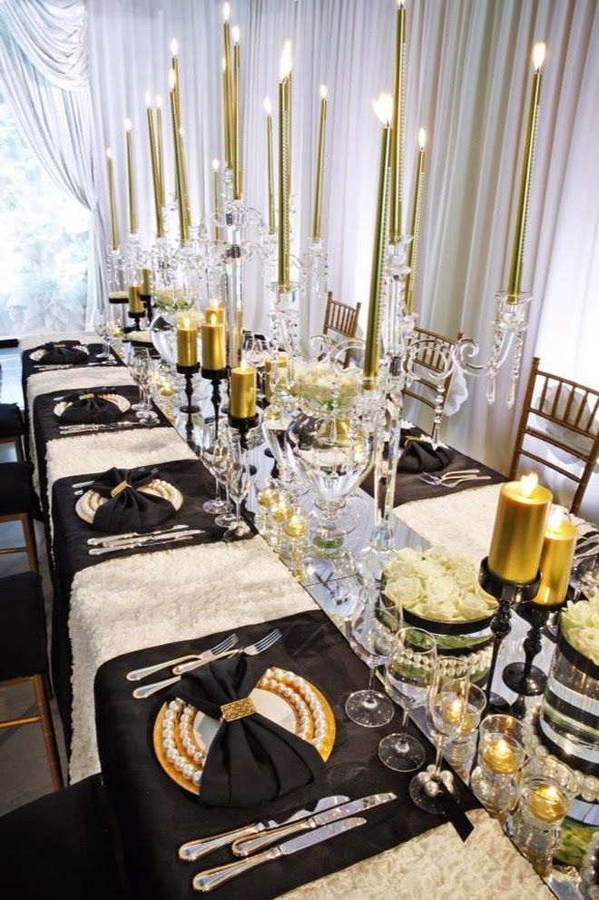 Black Gold And Ivory Wedding Ideas | Wedding Ideas