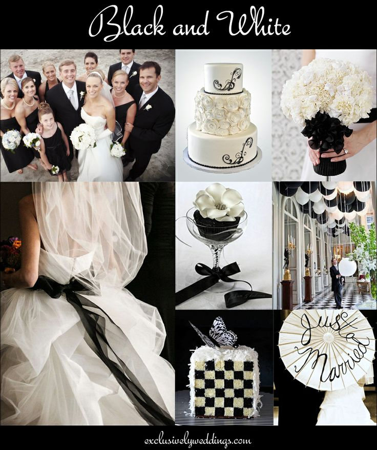 17 Best Images About Black And White Wedding Ideas Inspiration
