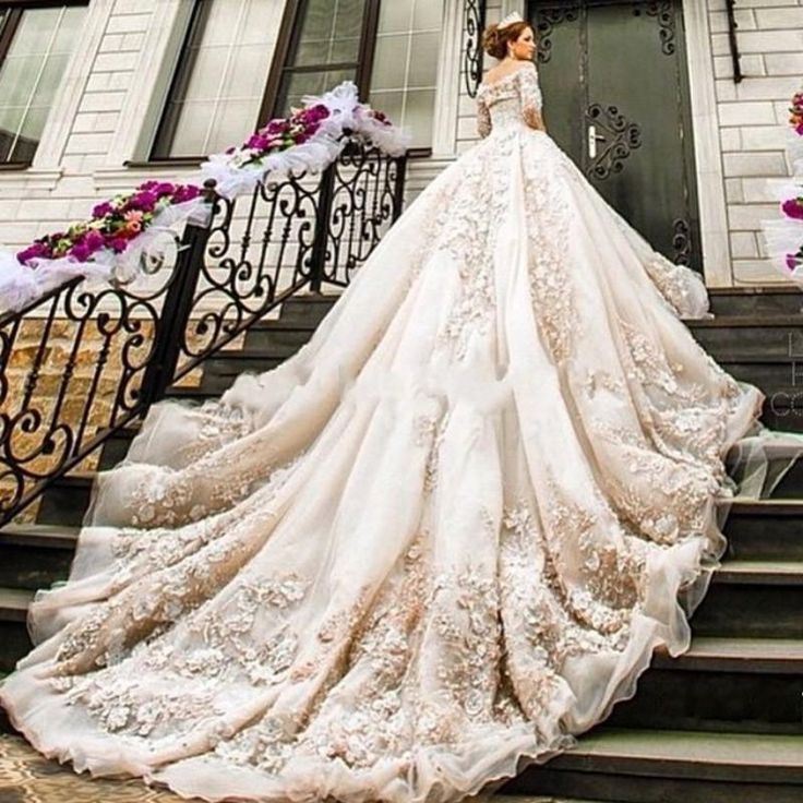 Wedding Dresses With A Long Train. Wedding Dresses. Wedding Ideas ...