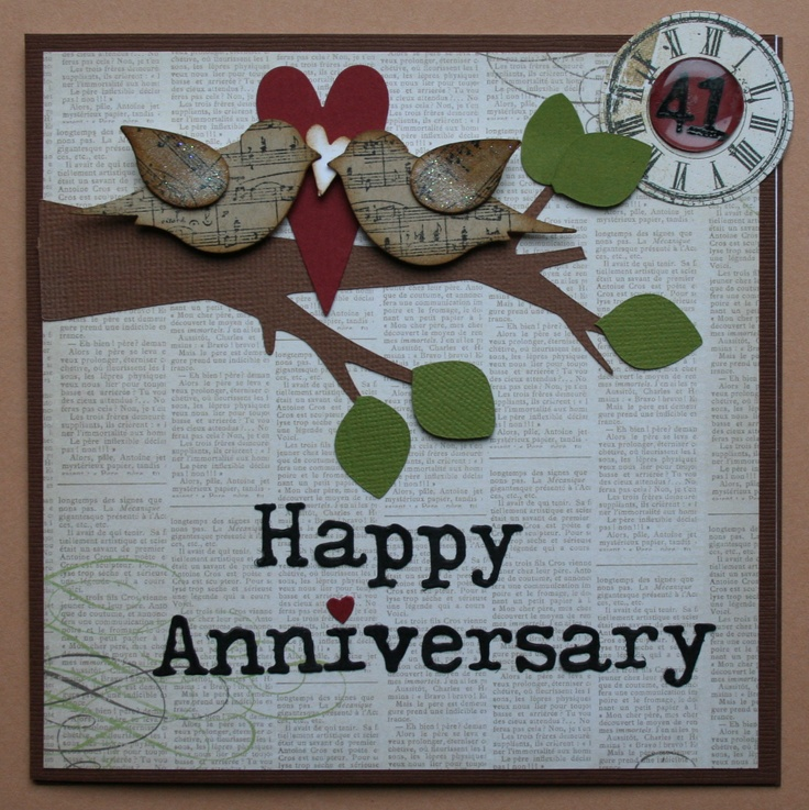 25th Wedding Anniversary Scrapbook Ideas