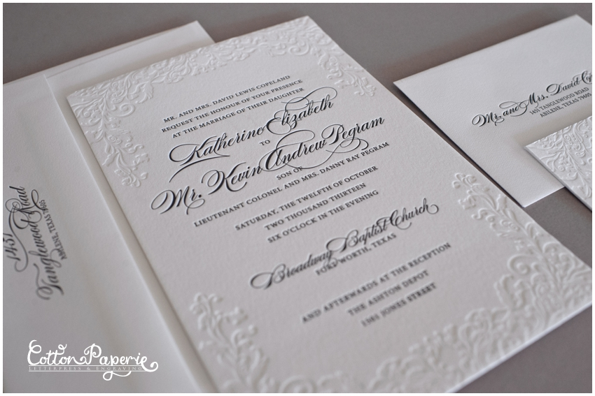 17 best images about letterpress wedding invitations on emasscraft org - Letterpress Wedding Invitations
